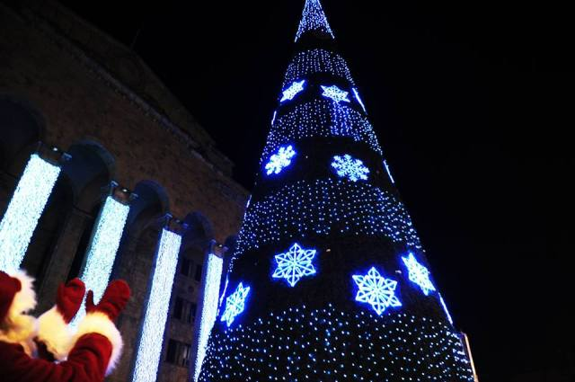 Christmas Tree in Tbilisi