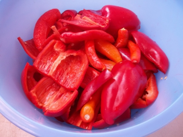 Prepared Peppers