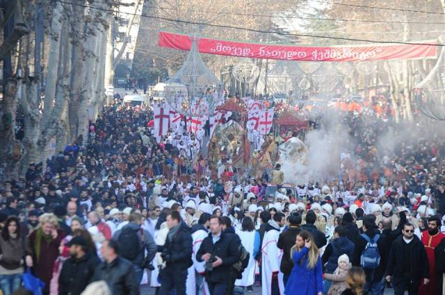Alilo Procession in Tbilisi_6