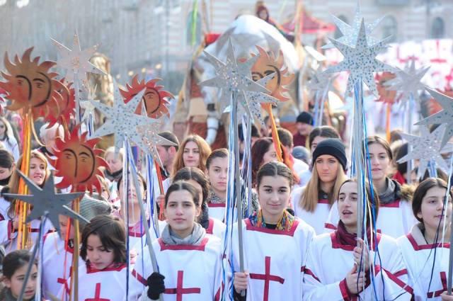 Alilo Procession in Tbilisi