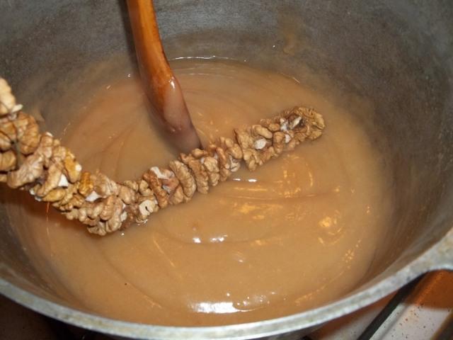 Чурчхела пошаговый рецепт фото