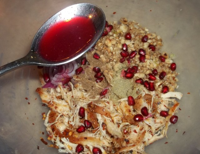 Adding Pomegranate Juice - Copy