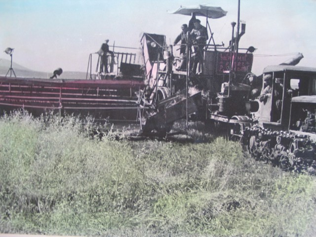 Agricultural Machinery in 1950's Georgia