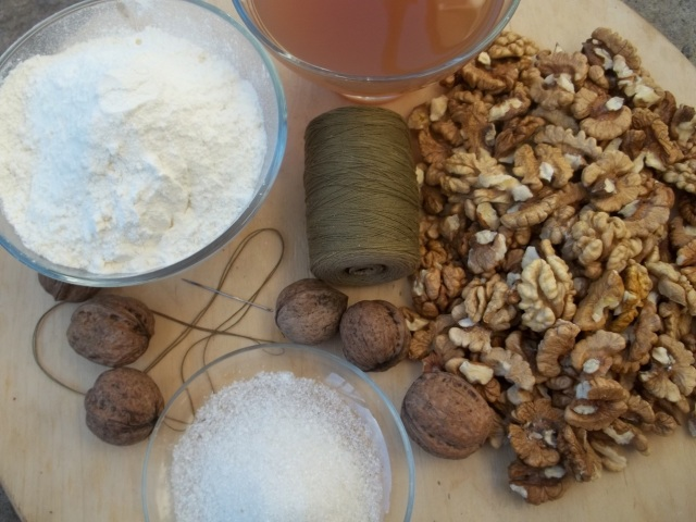 Ingredients for Churchkhela - Copy