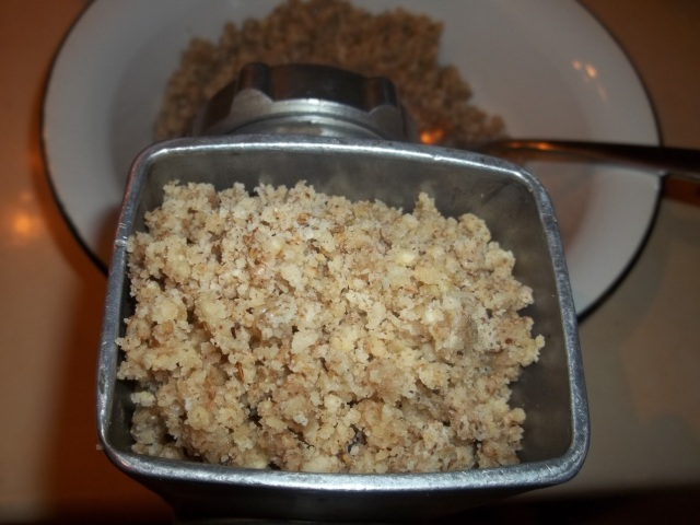 Re-grinding Walnuts - Copy