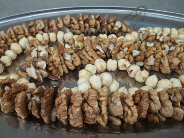 Threaded Walnuts and Hazelnuts - Copy