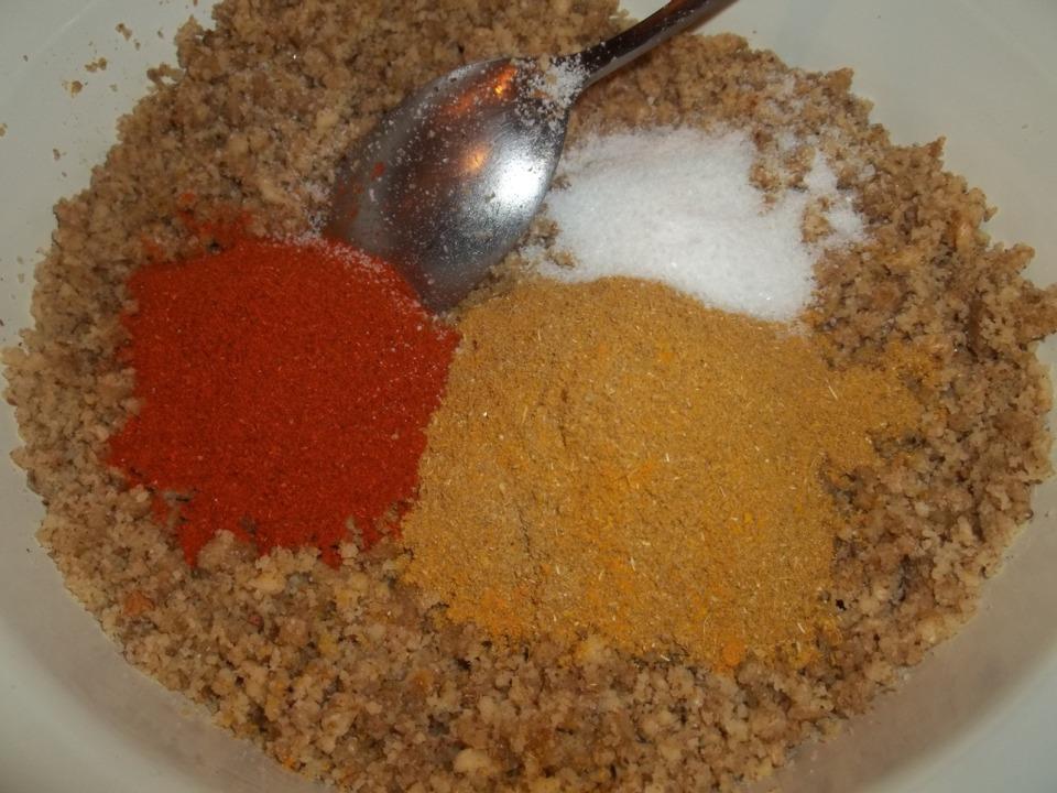 Adding Spices and salt - Copy