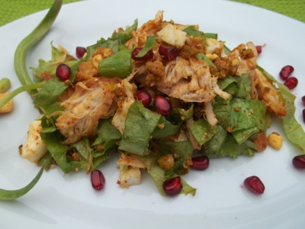 Chicken Salad with Pomegranate - Copy