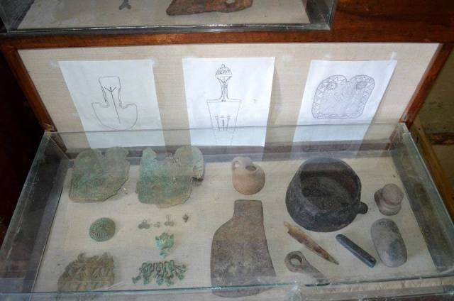 Display at the Tusheti Ethnography Museum of Keselo