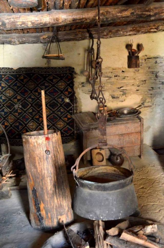 Domestic Implements in the Tusheti Ethnography Museum of Keselo