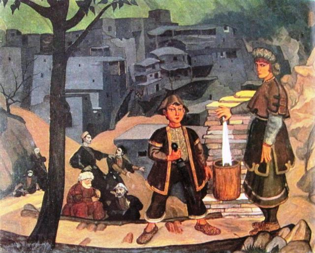 Khevsureti (1920) by Shalva Kikodze
