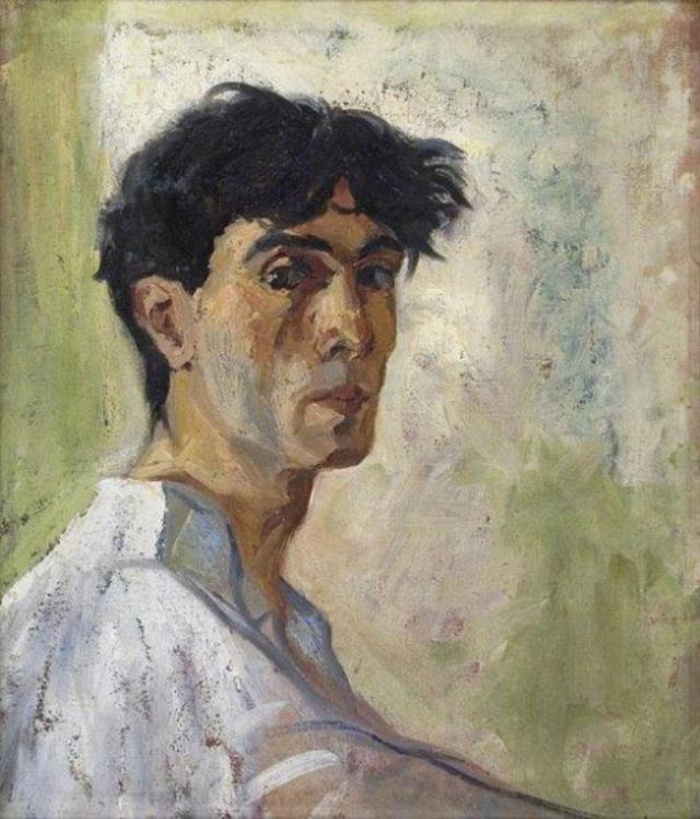 Self Portrait (1920). Shalva Kikodze