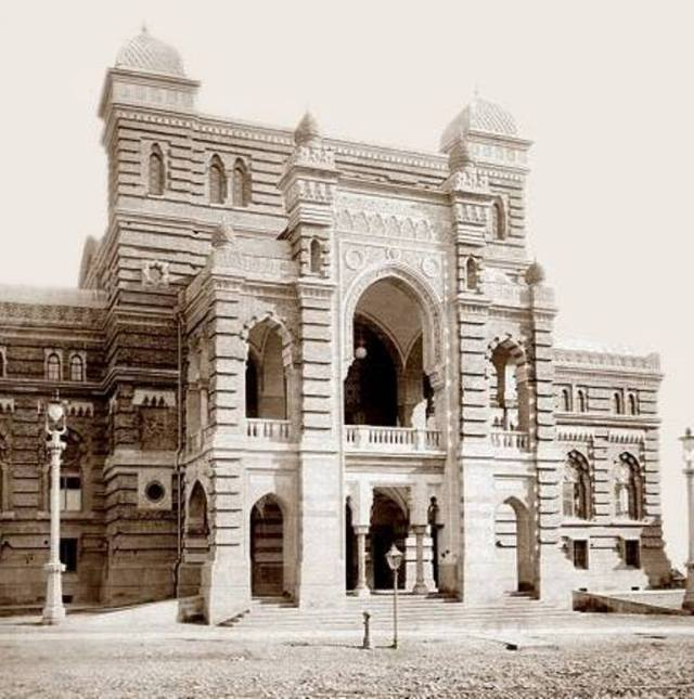 19th century photograph of the Tbilisi State Academic Opera and Ballet Theatre