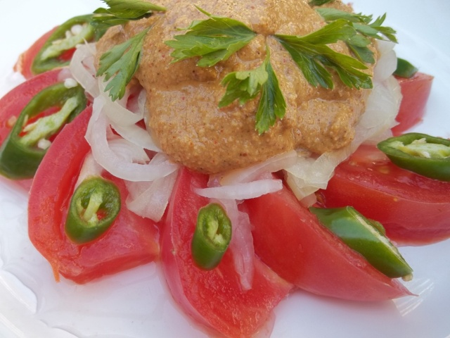 Tomato and Nut Salad - Copy