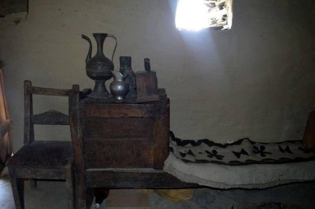 Tushetian furniture in the Tusheti Ethnography Museum of Keselo