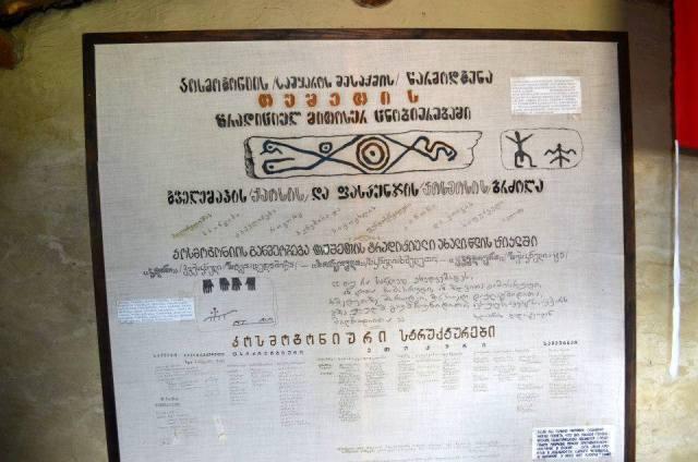 Tushetian Myth of World Creation at the Tusheti Ethnography Museum of Keselo