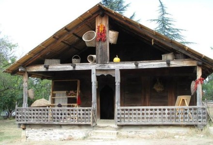 19th century Megrelian Sajalabo House