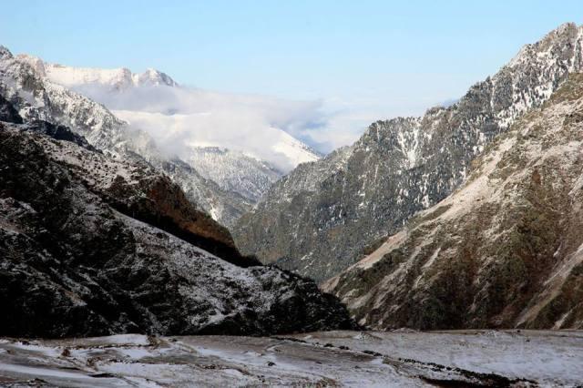 Dariali Gorge in Kazbegi National Park