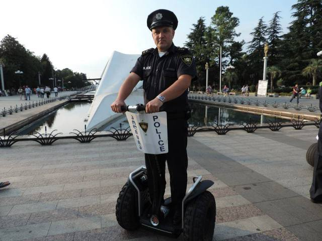 Electric Patrol Vehicle for Batumi Boulevard