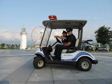 Electric Patrol Vehicles for Batumi Boulevard