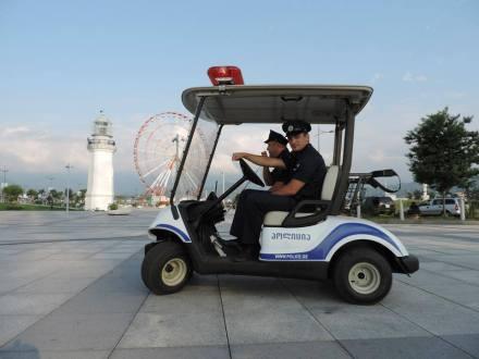 Electric Patrol Vehicles for Batumi Boulevard