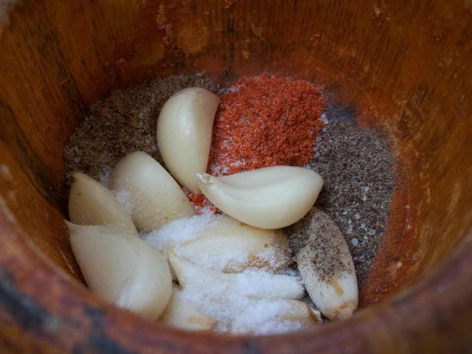 Spices Garlic and Salt - Copy