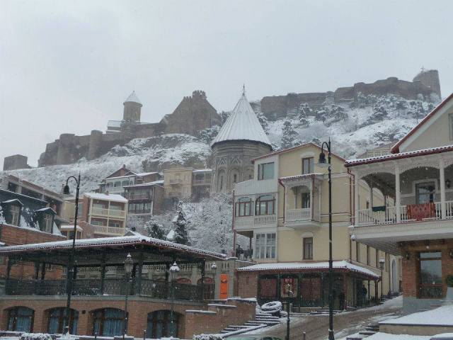 Tbilisi's Old Town in Winter
