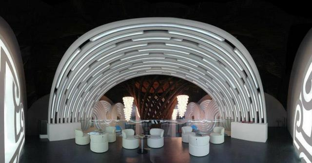 The Georgia Pavilion at the Shanghai Expo 2010