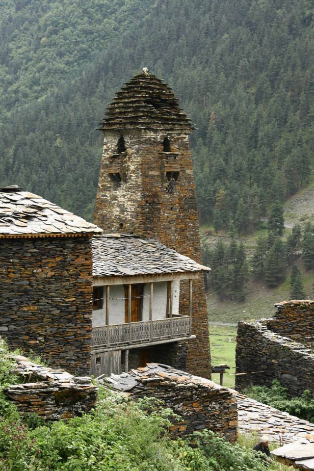 Vernacular architecture of Tusheti.