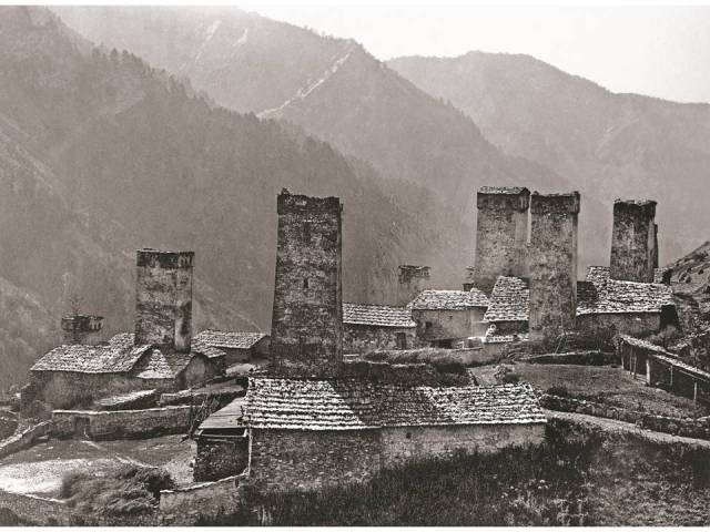 Village of Adish. 1890. Photo courtesy Fondazione Sella, Biella