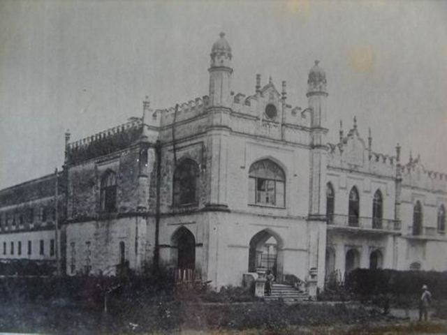 The Dadiani Palace in Zugdidi in the 1930's