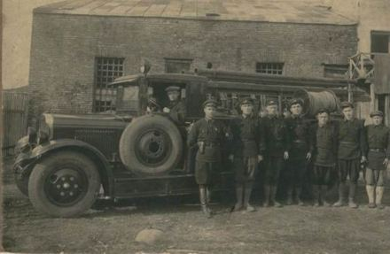 Zugdidi Fire Brigade in 1934
