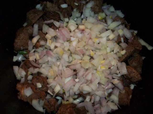 Adding Chopped Onions - Copy