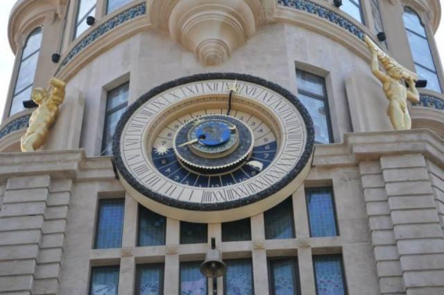Astronomical Clock in Europe Square in Batumi