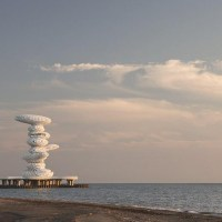 About Architecture - Lazika Pier Sculpture