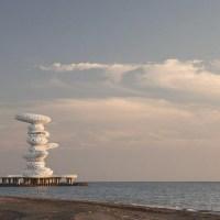 About Architecture - Lazika Pier Sculpture