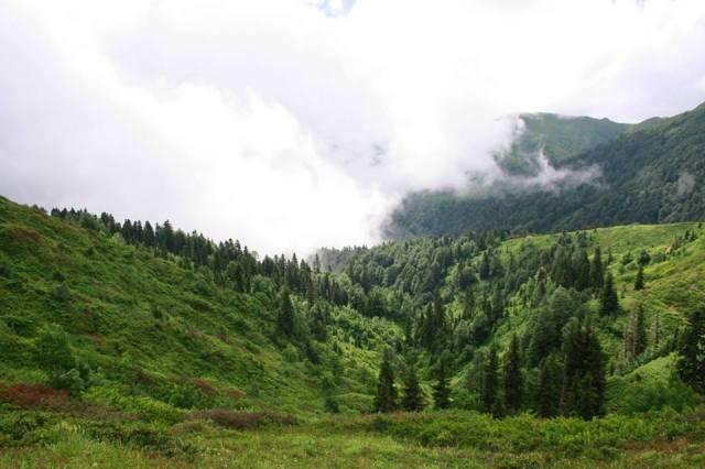 The Egrisi mountain range