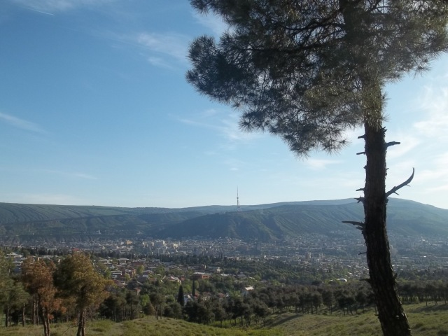 View of Tbilisi from Khudadov Forest