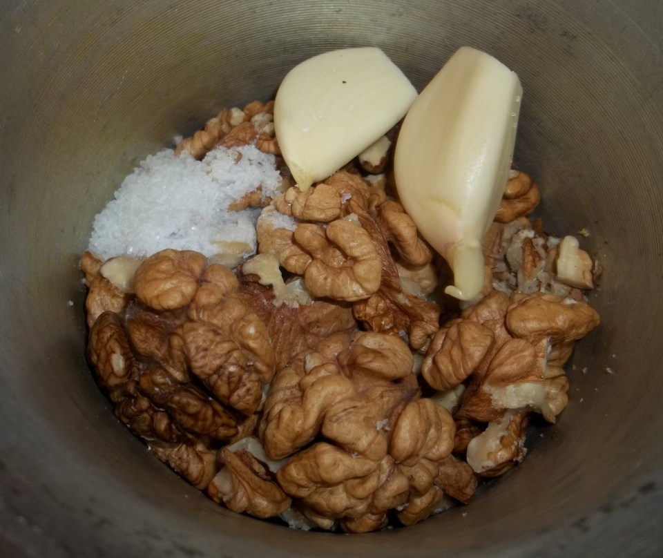 Walnuts Garlic and Salt - Copy