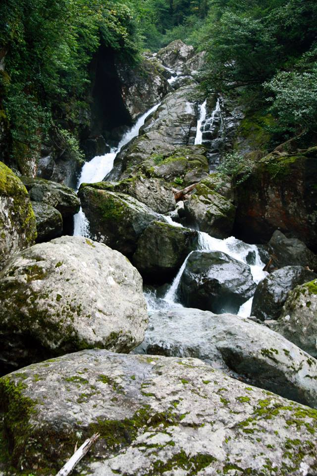 Waterfall in the Egrisi mountain range