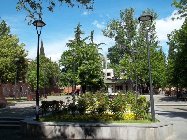 Djansug Kakhidze Park in Tbilisi