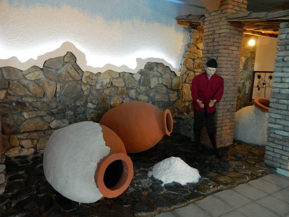 Exhibit at the Qvevri and Qvevri Wine Museum