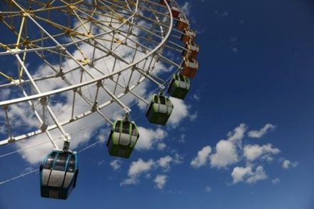 Ferris wheel. Photo courtesy of Mtatsminda Park