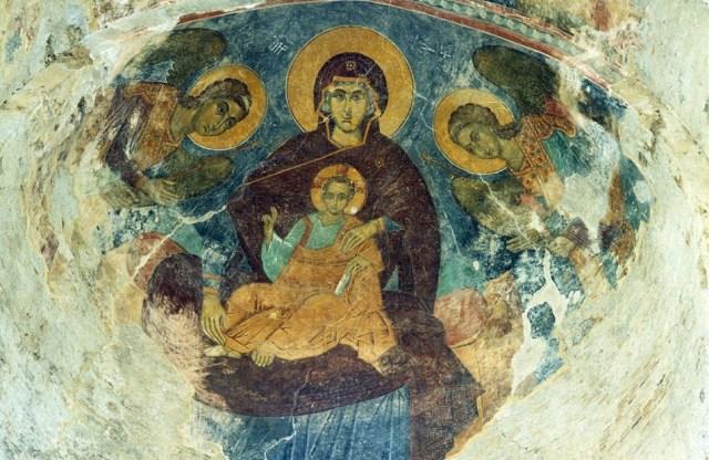 Mural in Alaverdi Cathedral