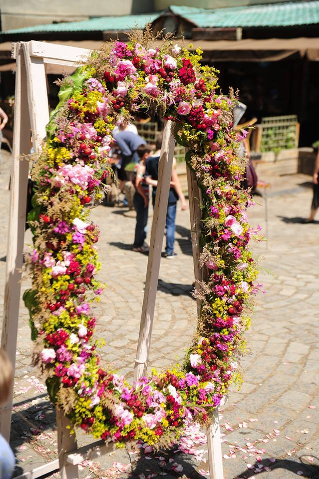 The Flower Festival in Tbilisi