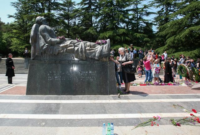 Tomb of the Unknown Warrior in Vake Park, Tbilisi