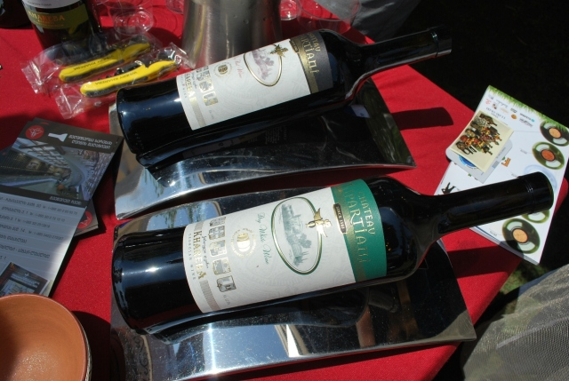 Wine at the New Wine Festival in Tbilisi