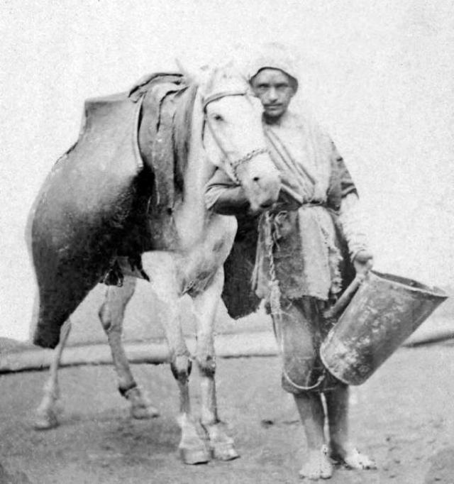 A water seller in 19th century Tiflis