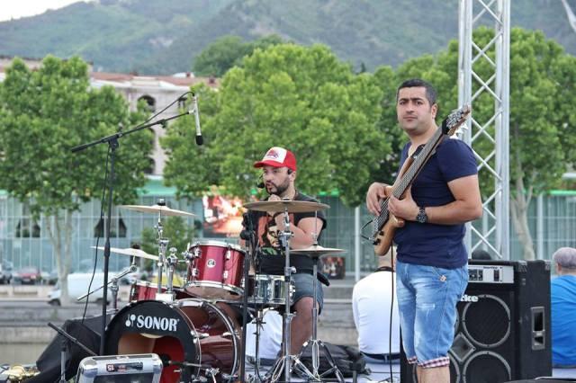 Concert in Rike Park