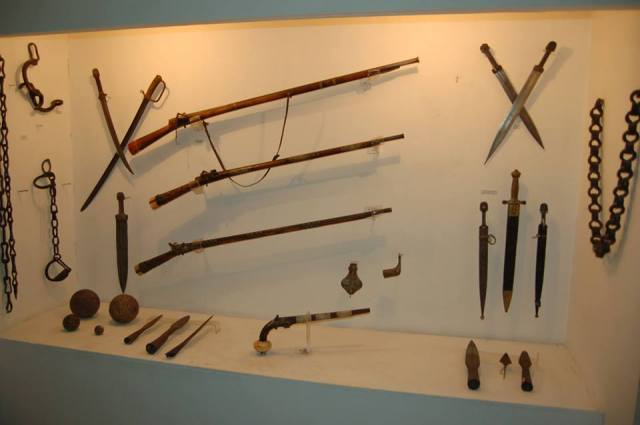 Exhibits in the Borjomi Museum of Local History